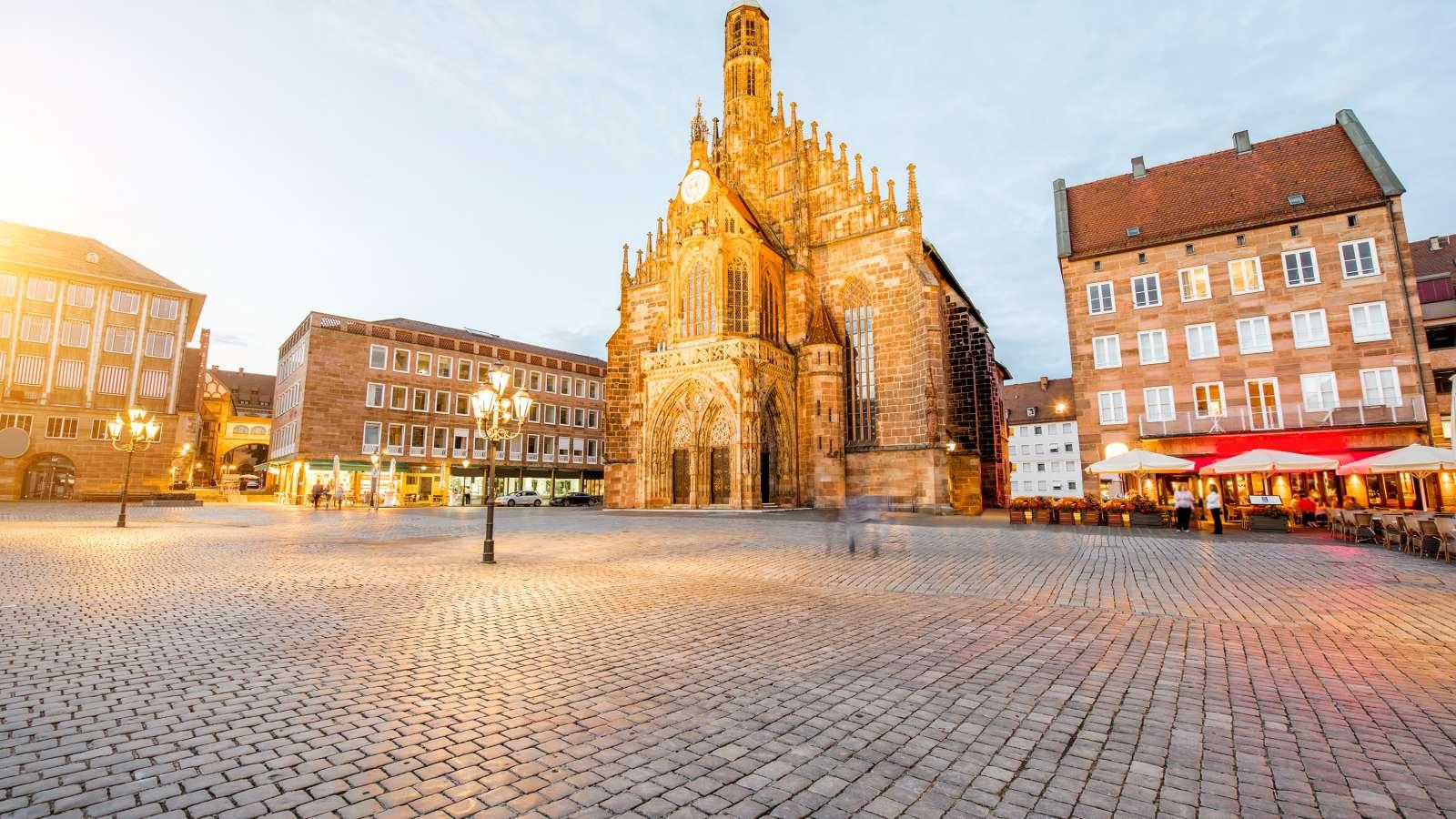 Nuremberg main market square