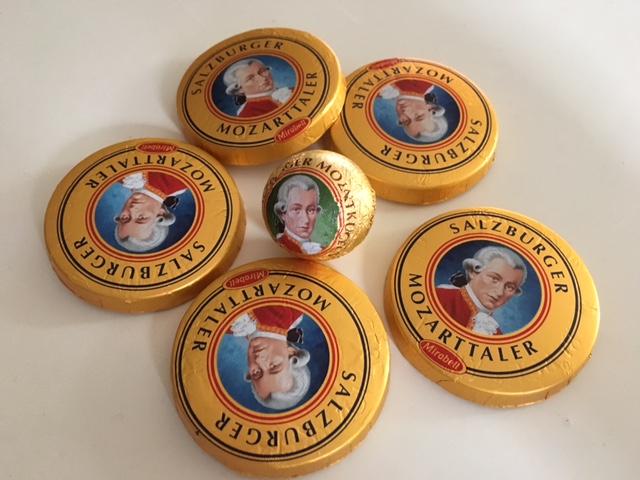 Mozarttaler and Mozartballs