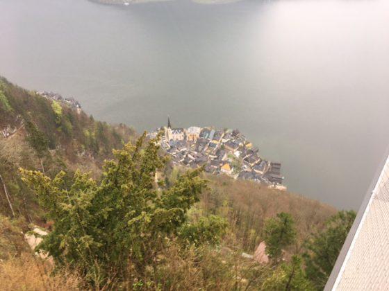 Hallstatt from above