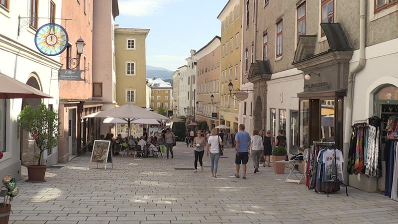 inside city of Hallein