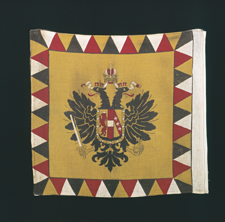 the Habsburg flag