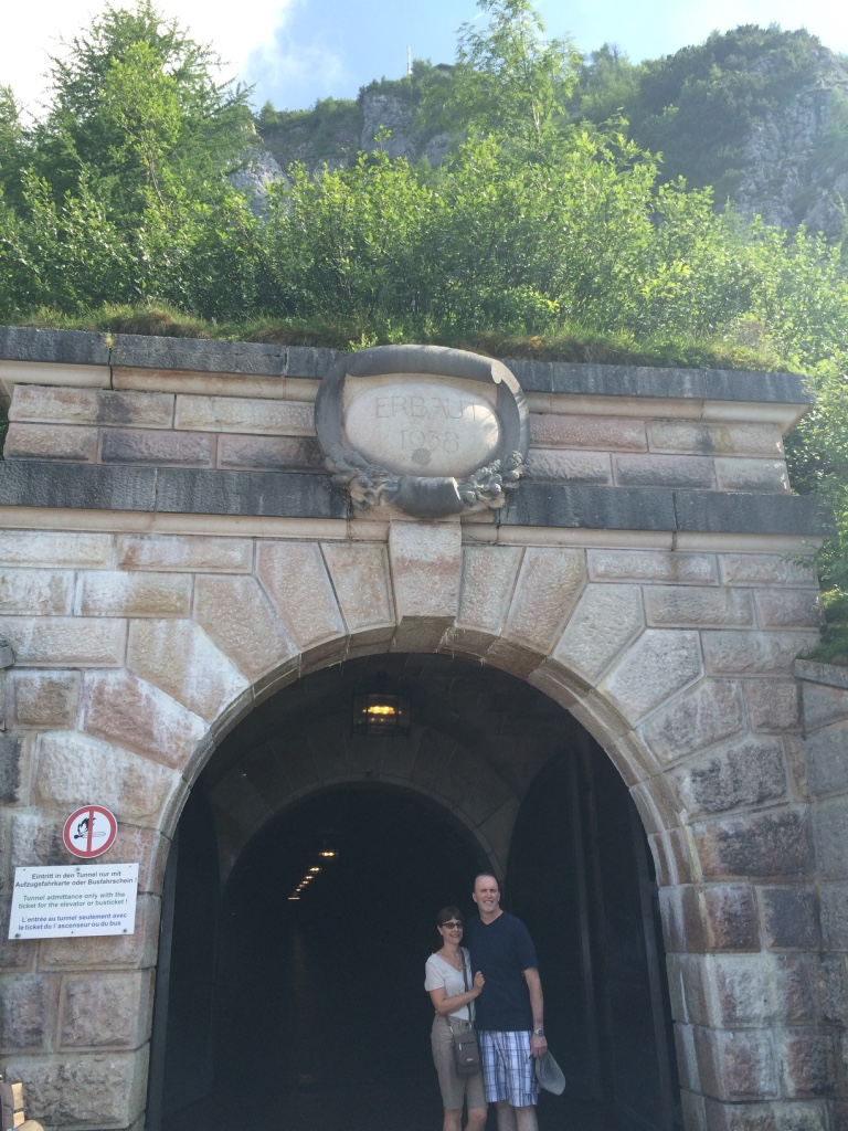 tunnel to the eagle's nest elevator