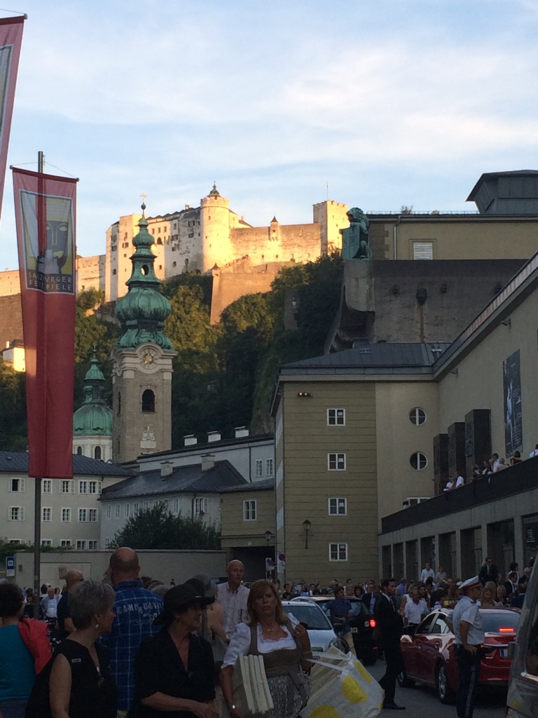 Salzburg music festival house